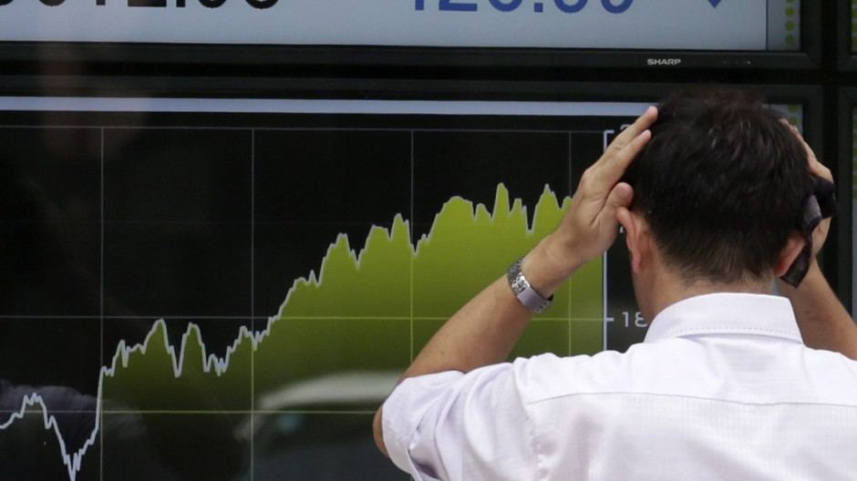 Tokyo stock market falls on China worries
