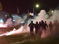 Polizei-Einsatz in Heidenau