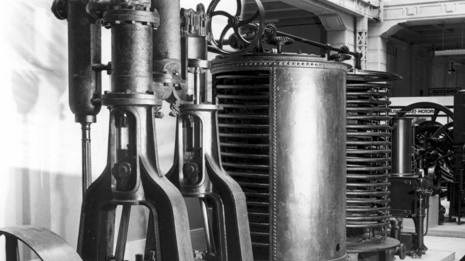 Großkältemaschine von Carl von Linde