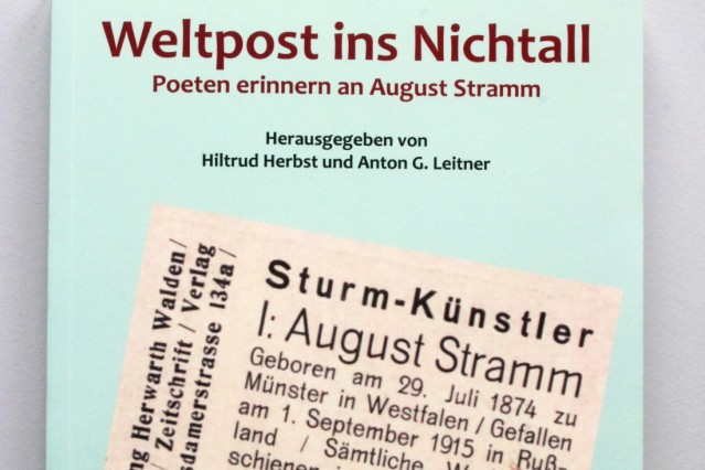 Gedichtband 'Weltpost ins Nichtall'; Weltpost ins Nichtall