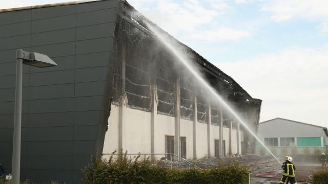 Refugee Facility Burns In Arson Attack In Nauen