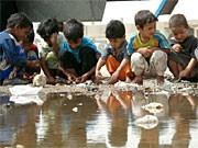 Unicef; Kinder im Irak; dpa