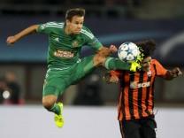SOCCER CL play off Rapid vs Shakhtar VIENNA AUSTRIA 19 AUG 15 SOCCER UEFA Champions League p