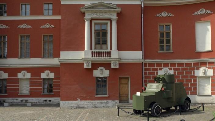 Das Museum für Russische Zeitgeschichte in Moskau im Jahr 2008.