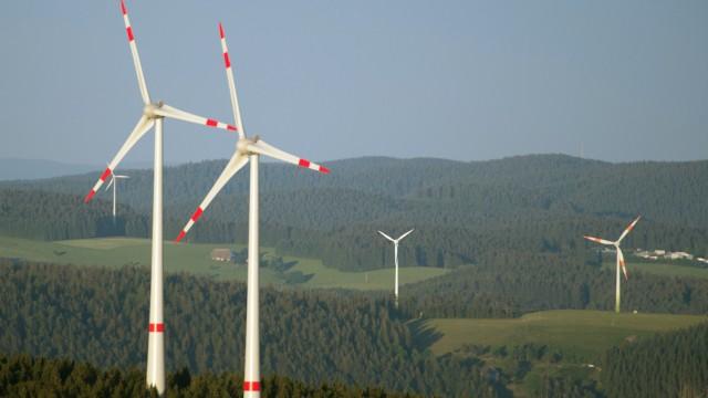 Windräder am Kandel