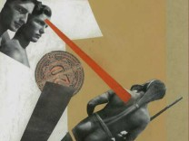 """Collage """"20 Mark"""", Künstler soll Karl Waldmann sein."""