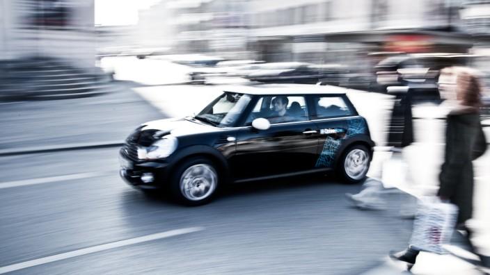 Mini des Carsharing-Anbieters Drivenow.
