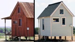 Kleine mobile Häuser in Texas