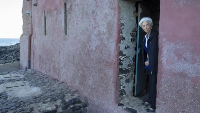 IMF Director Christine Lagarde Visits Senegal