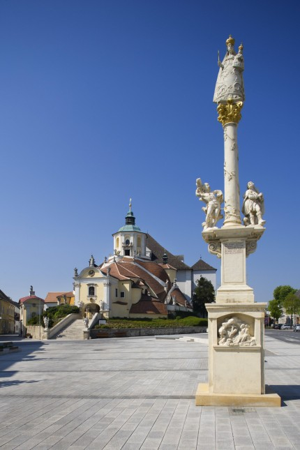 Austria Burgenland Eisenstadt View of pilgrimage church PUBLICATIONxINxGERxSUIxAUTxHUNxONLY WWF00