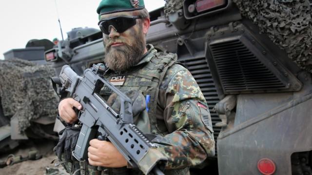 Erste Übung zur Verlegung der Nato-Speerspitze
