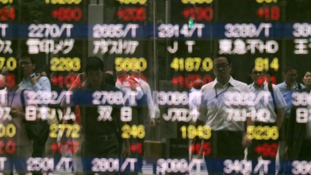 Tokyo stock market rises