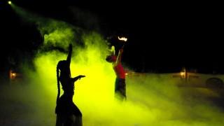 Foto aus dem Programm vom österreichischen National Circus Knie