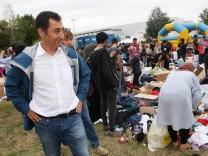 Willkommensfest für Flüchtlinge in Heidenau