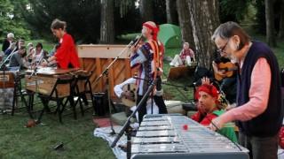 Konzert mit 'Embryo' und marokkanischen Musikern; Embryo in concert