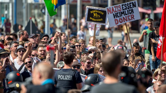 Demonstrationen in Rosenheim