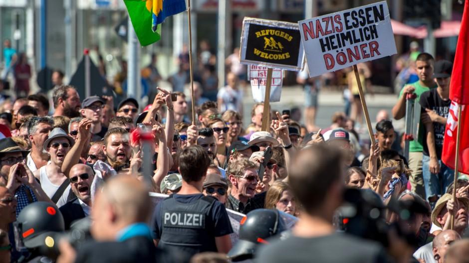 Demonstrationen in Rosenheim