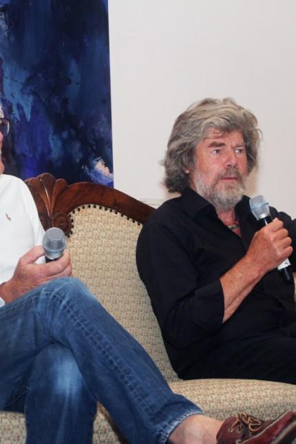 Gipfelgespräch mit Messner und Zimmer; Gipfelgespräch im Buchheim-Museum