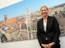 Stephanie Jacobs bewirbt sich für Umweltreferentenamt in München, 2015