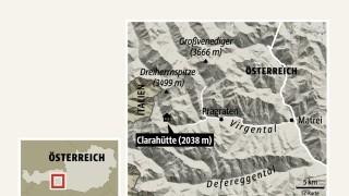 Alpen Clarahütte in den Hohen Tauern