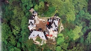 Das Hochschloß aus der Vogelperspektive; Repros Hochschloß/v.Schab