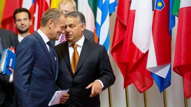 Flüchtlinge Ungarischer Regierungschef