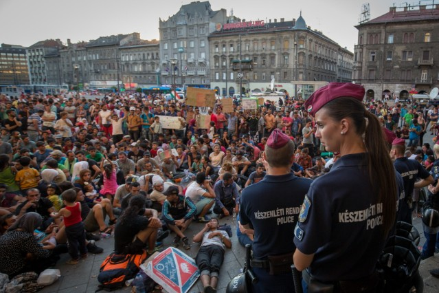 Record Number Of Migrants Flowing Into Hungary Across Its Borders With Serbia