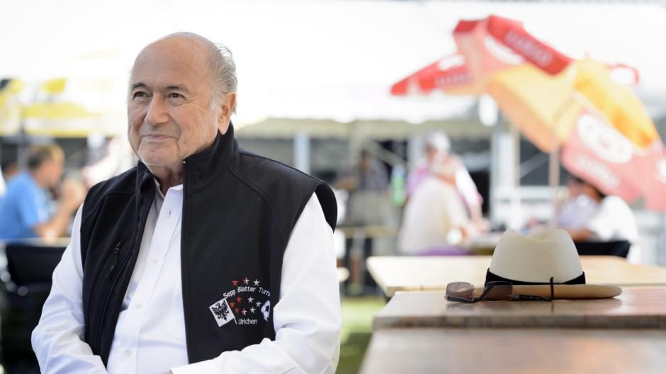 FIFA President, Swiss Joseph Sepp Blatter