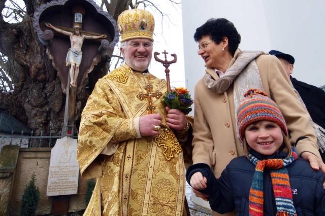 Ukrainischer Exarch besucht Puch
