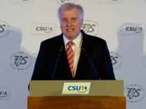 CSU-Gedenkfeier Franz Josef Strauß