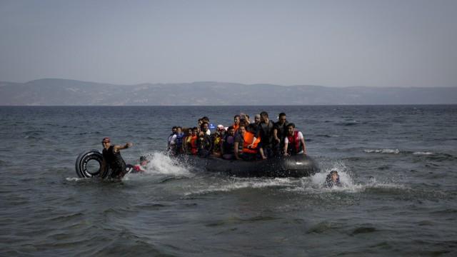 EU-Flüchtlingspolitik Flüchtlinge