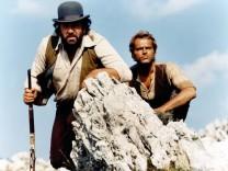On continue a l appeler Trinita de Enzo Barboni avec Terence Hill et Bud Spencer 1972 AD00365257 PUB