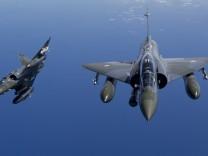 Französische Kampfflugzeuge