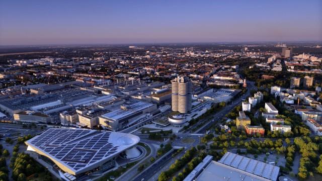 Blick vom Fernsehturm in München, 2015