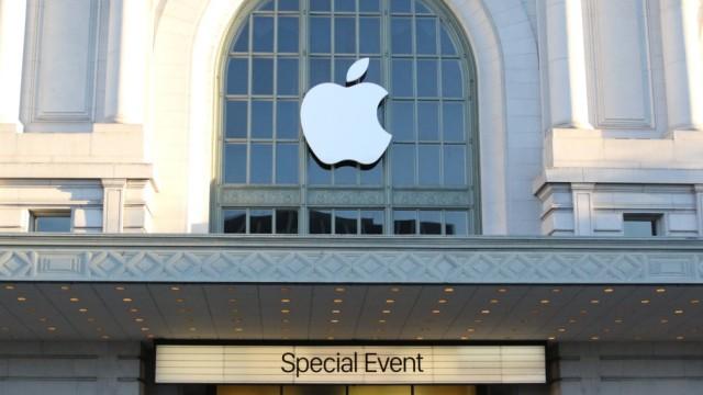 Apple-Event im Bill Graham Civic Auditorium in San Francisco