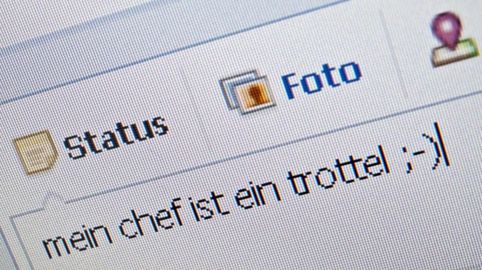 Beschimpfungen auf Facebook sind Kündigungsgrund
