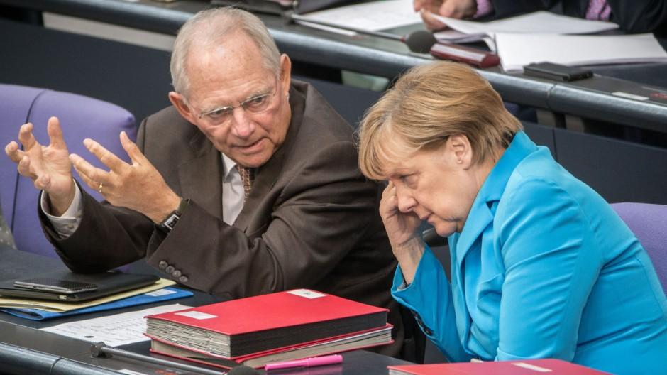 Bundestag - Haushalt