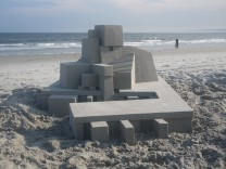 Sandburgen von New York, gebaut von Calvin Seibert