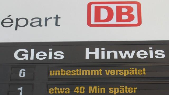Verspätung Deutsche Bahn