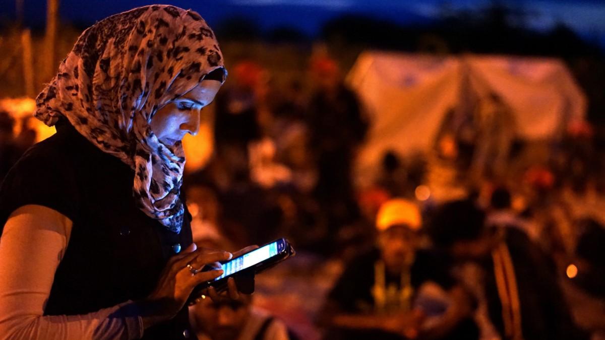 Was Medien für Flüchtlinge senden