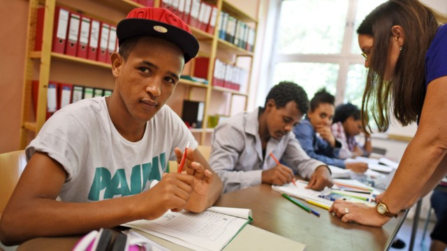 Selams kleines Glück - Flüchtlingskinder lernen Deutsch