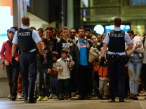 Flüchtlinge in München