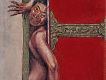 """Pemba Tsering, """"Pain Between Doors"""" 2013."""
