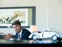 BMW-Chef Harald Krüger, Interview in der BMW-Zentrale/ Petuelring 130