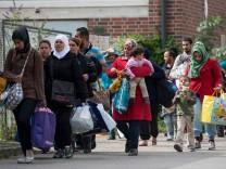 Mehr als 12.000 neue Fluechtlinge in Muenchen