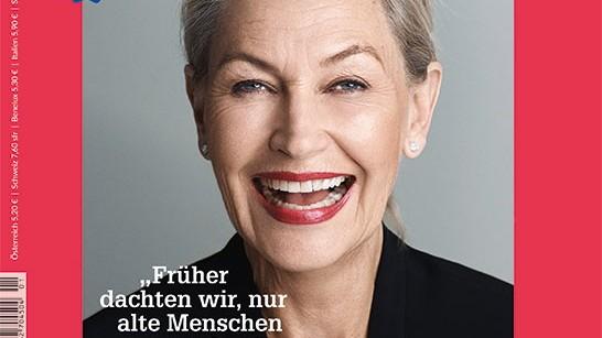 """Titelblatt der der neuen """"Brigitte wir"""""""