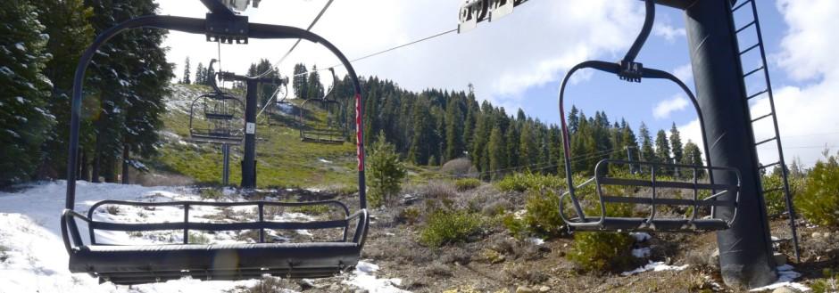 Historischer Schneemangel in der Sierra Nevada