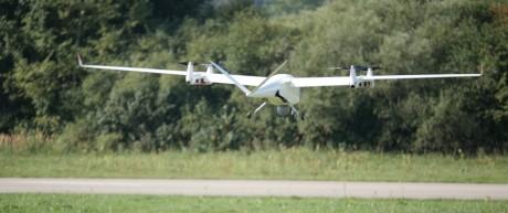 Drohnen Drohnen-Testgelände