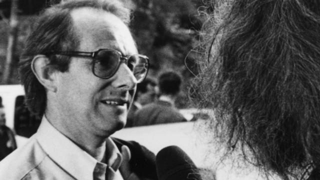 Ein alter Bekannter in Karlsbad: Der britische Filmemacher Ken Loach als Gast des böhmischen Festivals im Jahr 1992.
