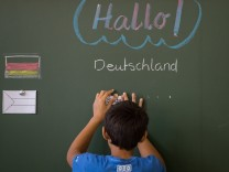 Einschulung von Flüchtlingen in Vorbereitungsklassen